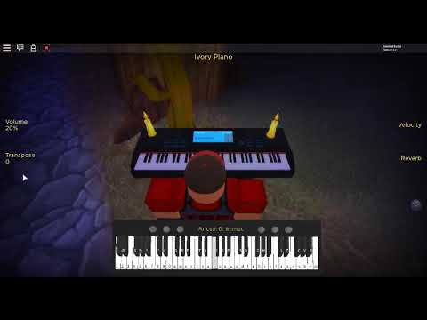 Secret Of Wysteria By Steampianist On A Roblox Piano By - nyan cat roblox piano