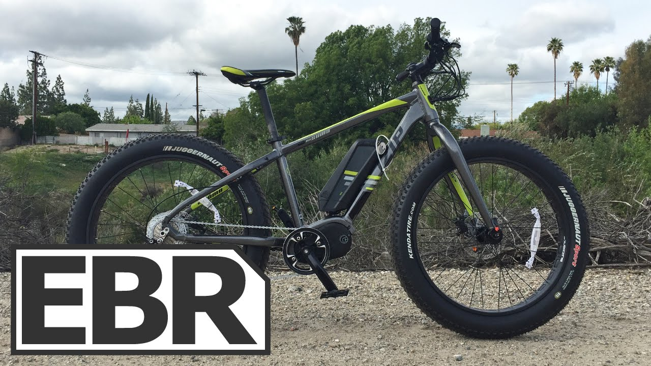 Izip E3 Sumo Video Review Ful Mid Drive Fat Tire Electric Bike You
