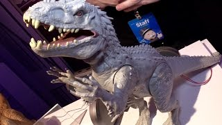 Jurassic World toys unveiled at New York Toy Fair 2015 from Hasbro