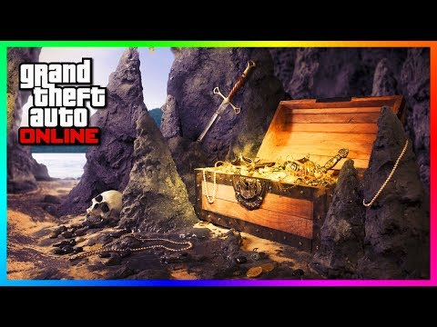 NEW Treasure Hunt Coming To GTA Online In Next DLC CONFIRMED - Hunting For A Secret, Lost Relic!