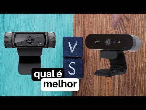 MELHOR WebCam Logitech - c920 vs Brio 4k - Review Youtubers | Streams | PC em 2020