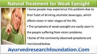 Natural Treatment for Weak Eyesight That Is Safe and Effective