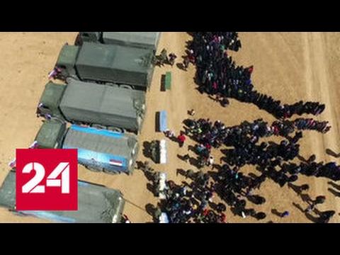 В Сирии доставили помощь жителям Алеппо и Мембиджа