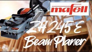 Mafell Carpenters Beam Planer Demonstration