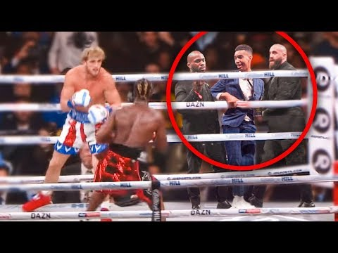 SNEAKING Into KSI Vs Logan Paul Rematch (in the ring) from YouTube · Duration:  15 minutes 21 seconds