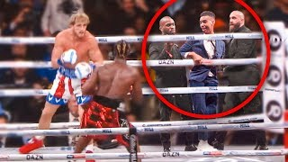 Download SNEAKING Into KSI Vs Logan Paul Rematch (in the ring) Mp3 and Videos