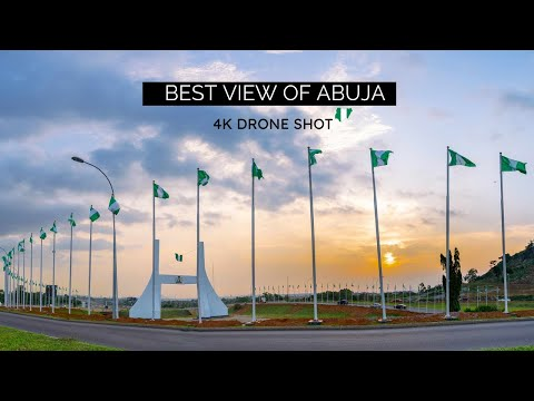 Discover Nigeria Capital City Abuja in a new light (4k drone shot of Nigeria Capital city)