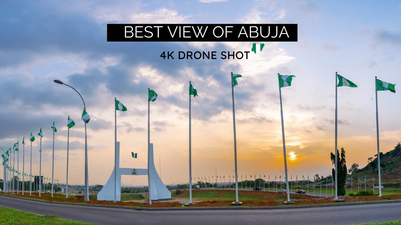 Abuja City, A view with a drone