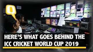 Behind the Scenes of ICC Cricket World Cup 2019 | The Quint