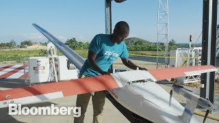In Rwanda, His Drones Are Saving Lives