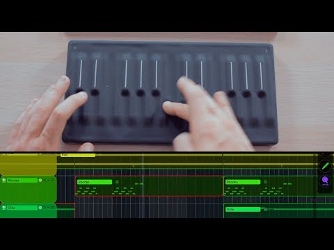 Live Looping with the ROLI Seaboard Block (zenAud.io ALK)