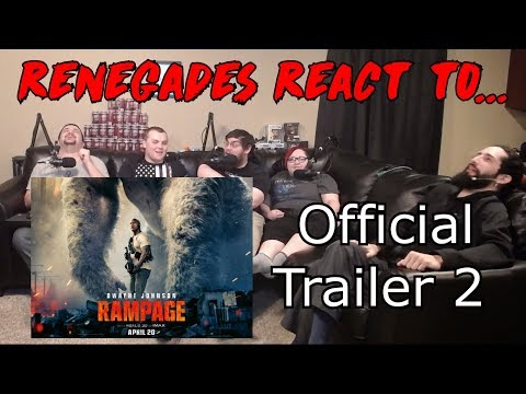 Renegades React to... Rampage - Official Trailer 2