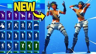 *NEW* BANDOLETTE Skin Showcase With Dance Emotes! Fortnite Battle Royale