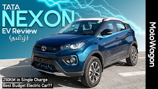 TATA Nexon EV with Ownership Experience - Are EVs the Future.? - Tamil Review - MotoWagon