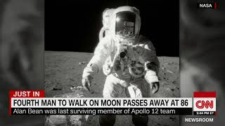 Alan Bean, the 4th person to walk on the moon, dies at 86