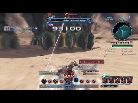 All Lv.70~79 Tyrants (Solo on foot, no decoy) - Xenoblade Chronicles X