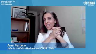 ACNUR Tour virtual para donantes albergue para inmigrantes Santa Mónica