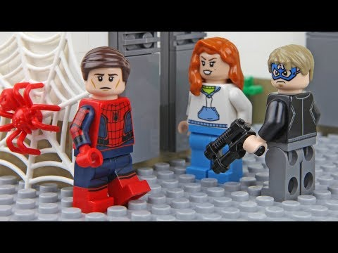 Thumbnail: Lego Spider-Man Bank Robbery