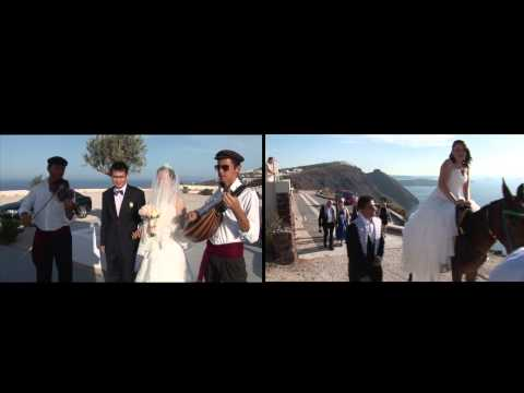 Santorini Weddings of Travel Zone