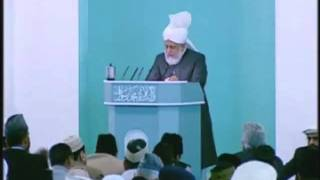 Urdu Friday Sermon 11th June 2010 - Islam Ahmadiyya