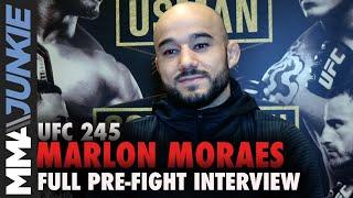 UFC 245: Marlon Moraes full MMA Junkie interview