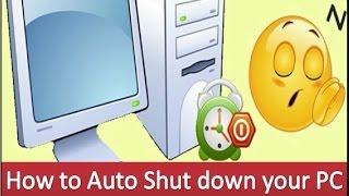 Auto shutdown you PC | Alarm your PC for Shutting down by FixProb