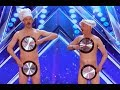Literally Men With Pans With A Little Surprise | Week 4 | America's Got Talent 2017