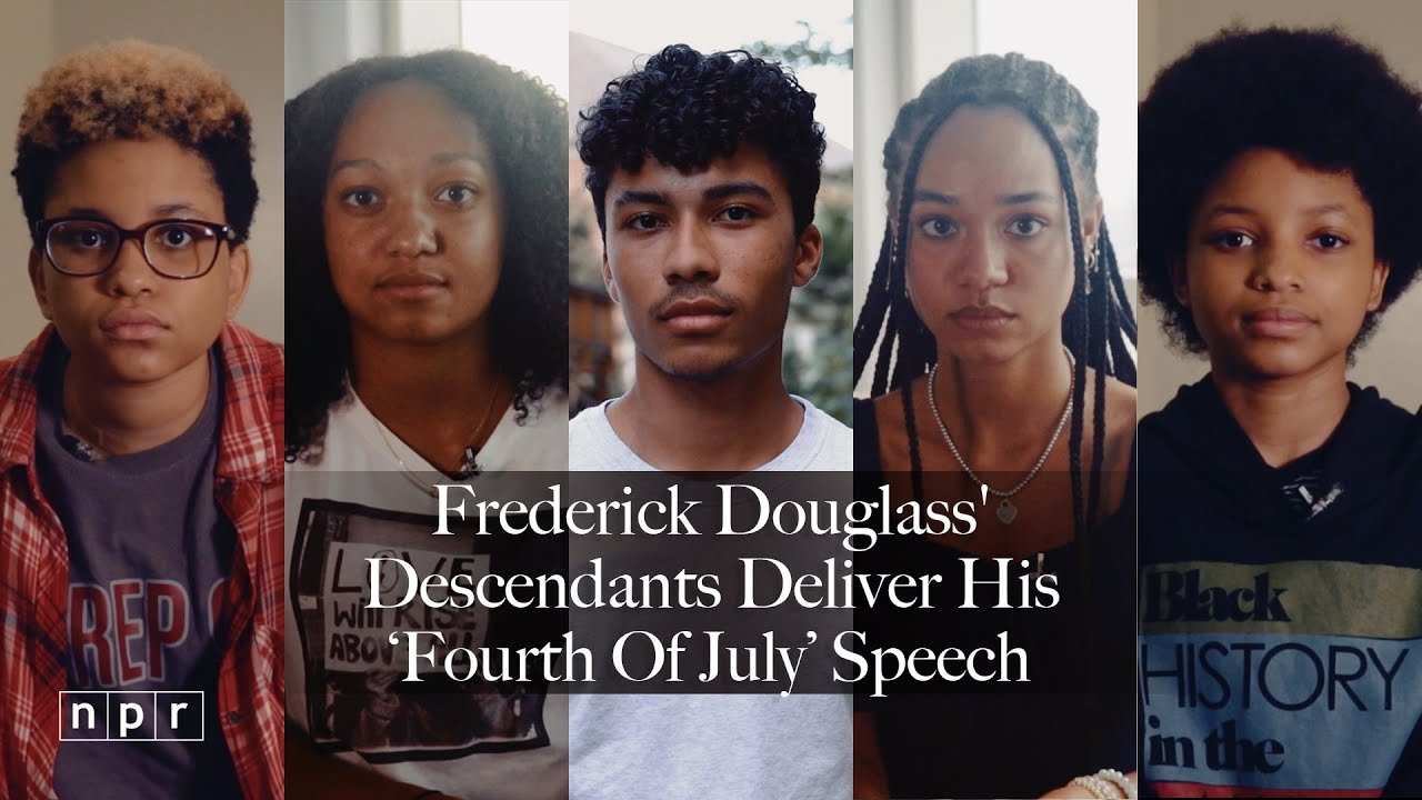 Frederick Douglass' Descendants Read His Famous 'Fourth of July' Speech | NPR