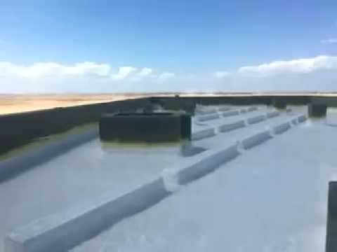 Roof Waterproofing Sika Combo Roof System Xvid Youtube