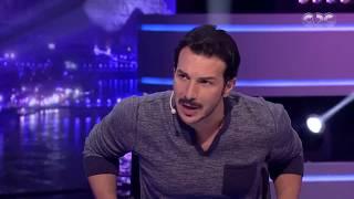 الليلة دي   لماذا يرتدي باسل خياط ملابس زوجته ؟ رد غريب من الفنان