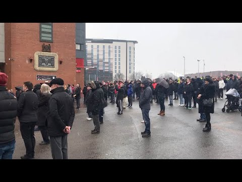 Silence At Old Trafford For Munich Air Disaster Anniversary