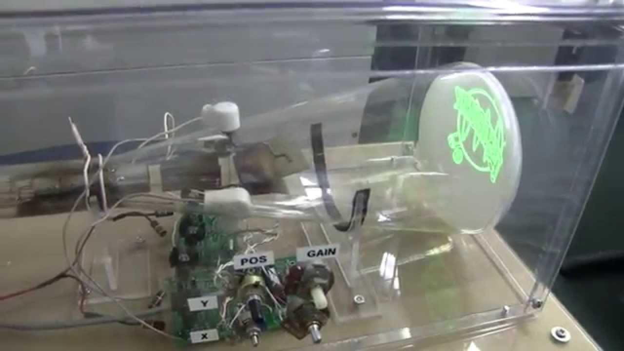Vintagetek Demo Of A 1930s 905 Crt Youtube Cathode Ray Tube