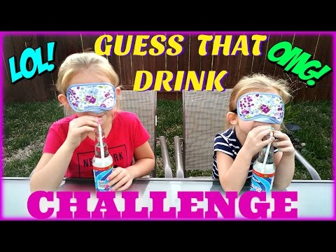 GUESS THAT DRINK CHALLENGE - Magic Box Toys Collector