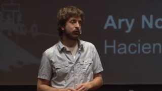 Haciendo lugar: Ary Nosovitzky at TEDxAvCorrientes 2013