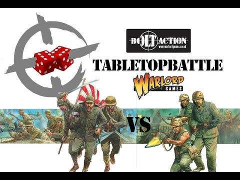 Bolt Action battle report - 1945: Pacific. The Great Raid
