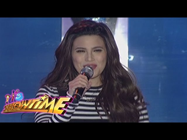 "It's Showtime Singing Mo 'To: Denise Laurel sings ""Bakit Labis Kitang Mahal"""