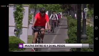 """Mega - Nota a """"Ley de convivencia vial"""""""