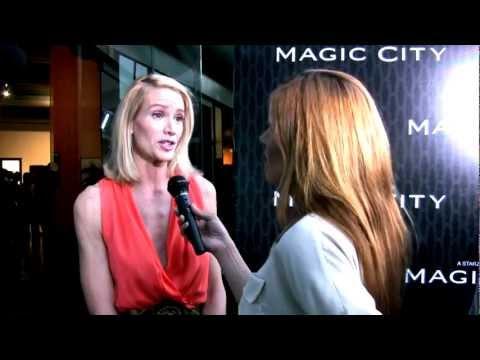 Steven Strait & Kelly Lynch exclusive interviews, LA.