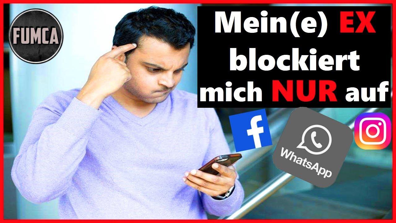 Ex zurück: Mein(e) Ex blockiert mich NUR auf Whatsapp