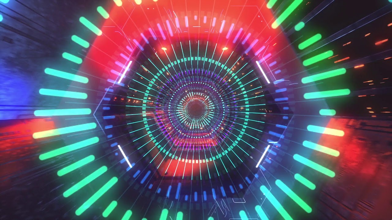 Dominik S  - Happiness - trippy visualizer audio [ VMA Dailies ]