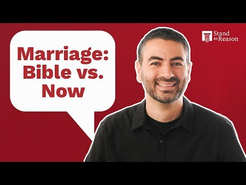 What Establishes A Marriage According To The Bible?