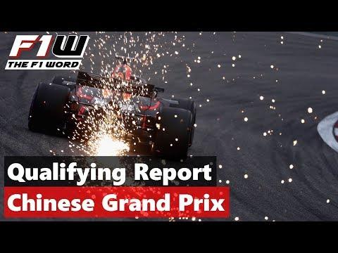 Qualifying Report: Chinese Grand Prix
