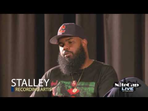 Stalley talks with high schoolers in the Virgin Islands on NiteCap Live