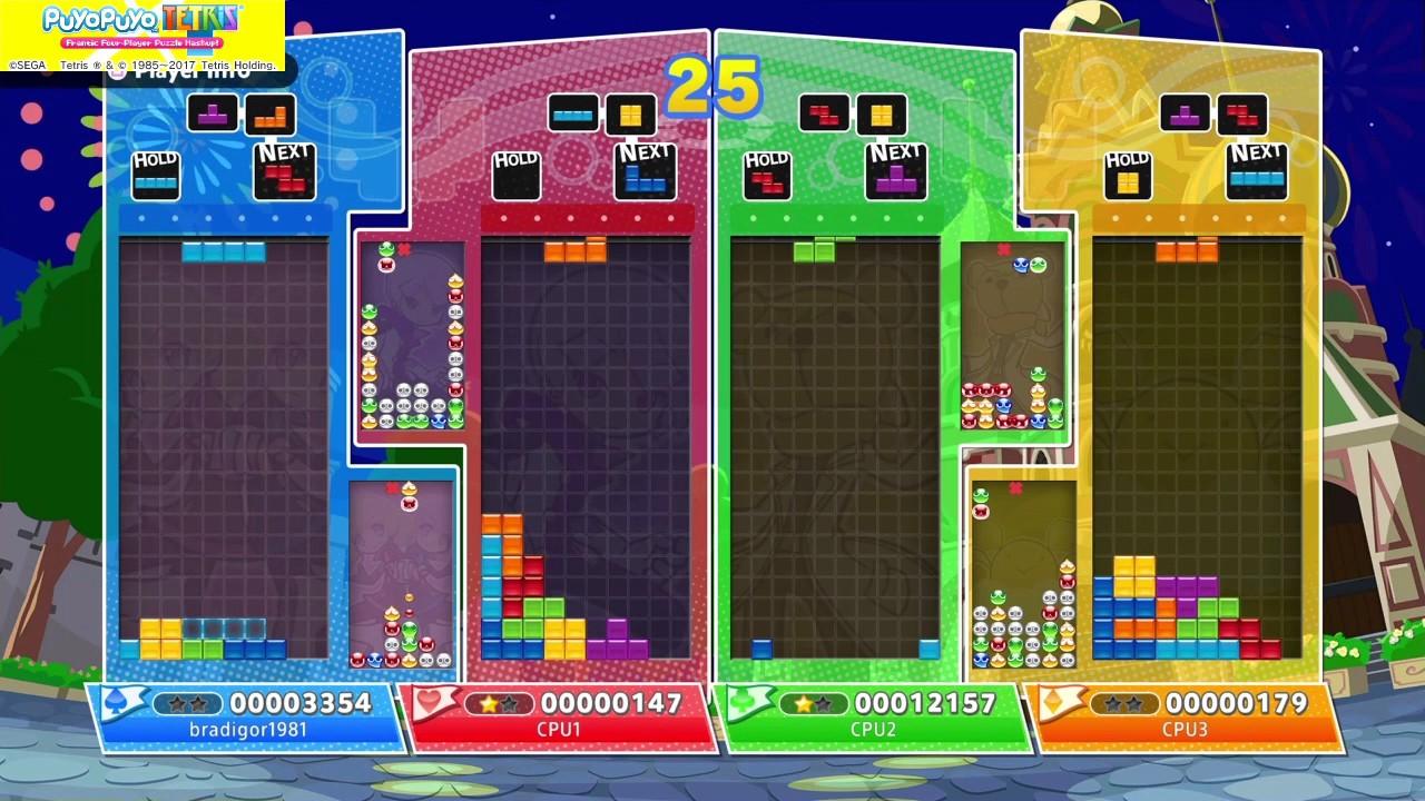 Puyo Puyo Tetris: Local Multiplayer Battle - YouTube
