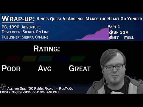 PSXplosion #192 Koudelka [Part 3] (PSX, RPG). Later: King's Quest V [Part 1] (PC, Adventure)