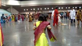 Astha Doing Garba at SEF Dandia in Oct 2009 - C