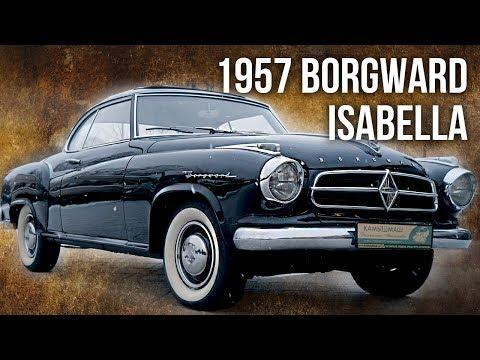 Borgward Isabella 1957   Ретро Автомобили – История автомобилестроения   Зенкевич Про Автомобили