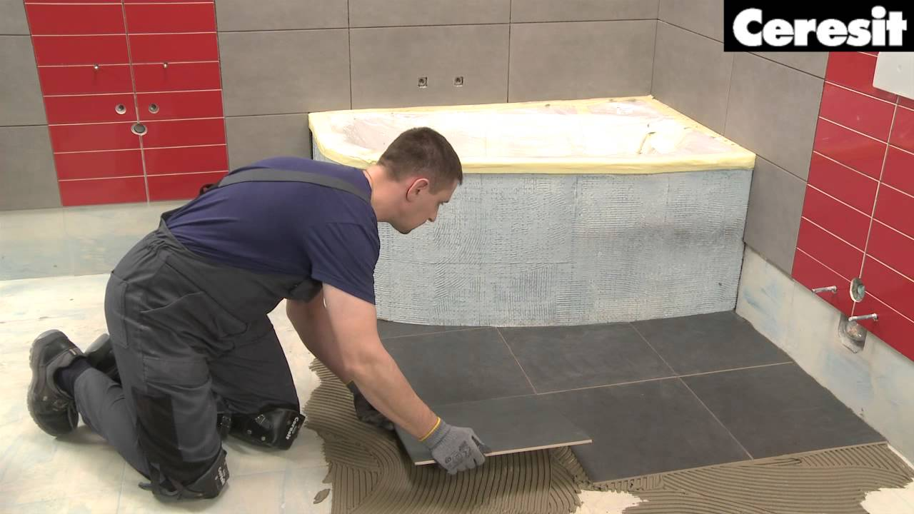 Laying Tile On Concrete