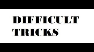 Roblox Parkour Difficult Tricks (RCmercado33 and Carlhud023)