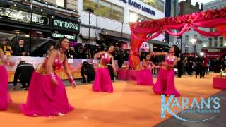 Nagada Sang Dhol dance Royal premiere Second Marigold hotel